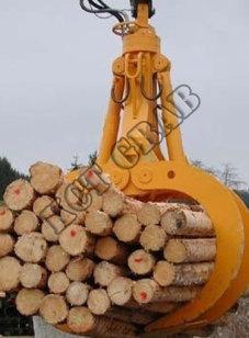 Holzgreifer für Bagger