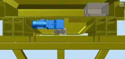 Elektromotor Antrieb Blechpaketgreifer